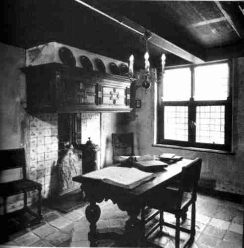 Spinoza's home, couldn't find the bed.