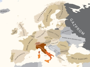 The Papal States . . .