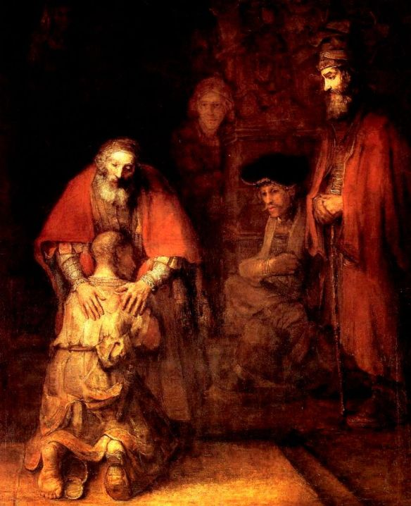 We celebrated Rembrandt's birthday, the painter of the best known images of forgiveness, about a week ago.