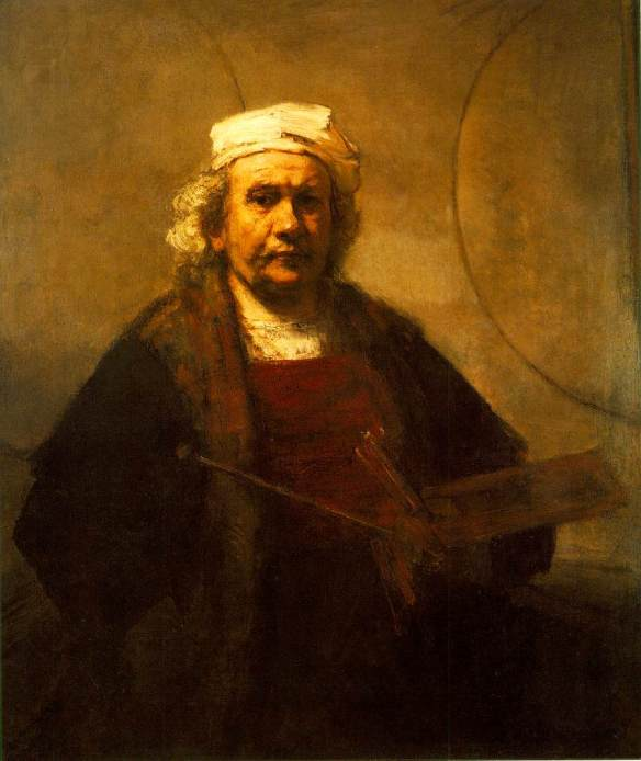 Rembrandt, Self-Portrait, 1861.